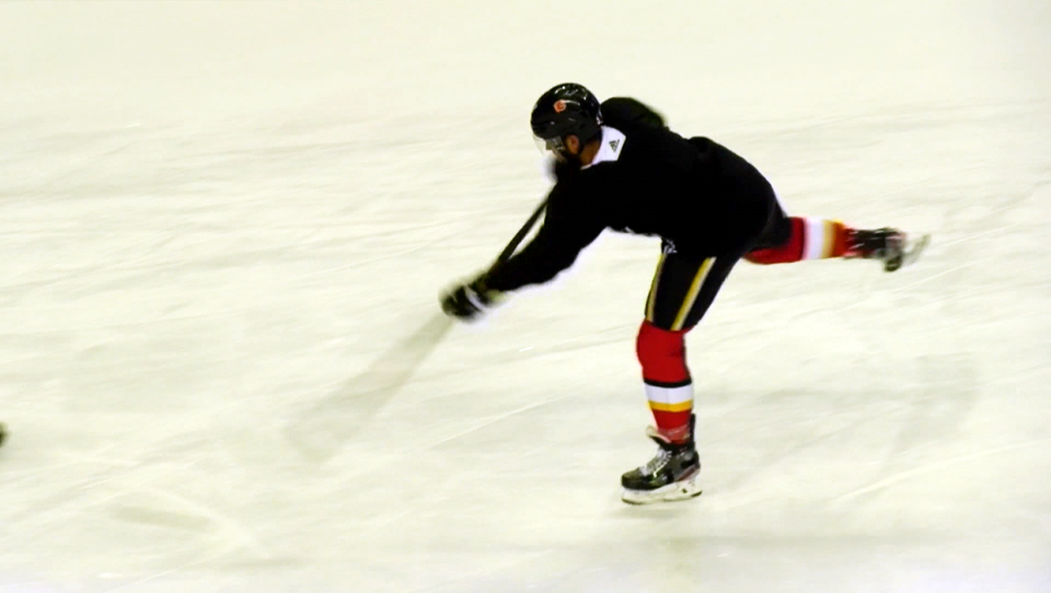 Flames defenceman Oliver Kylington has emerged as one of the team's top young defenders