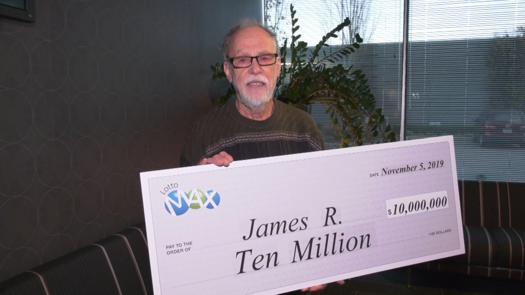 Lotto winner James Russell