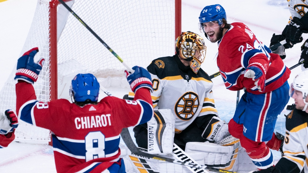 Habs beat Bruins