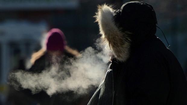 Record-breaking cold temperatures