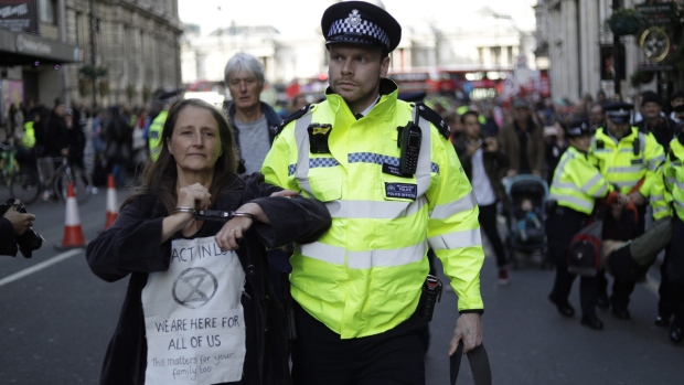 Judges overrule London police ban on Extinction Rebellion climate protests