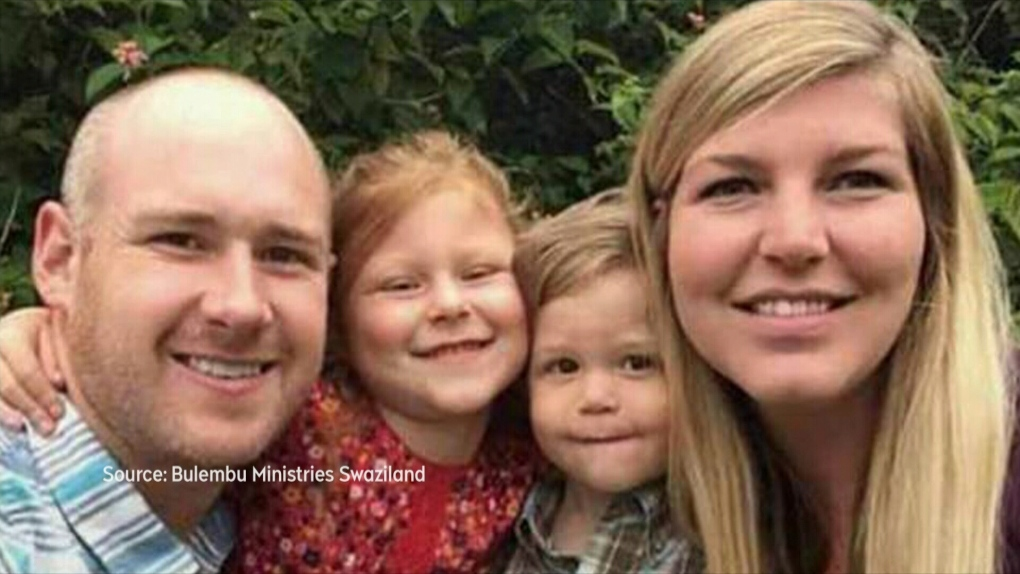 Memorial held for family killed in South Africa