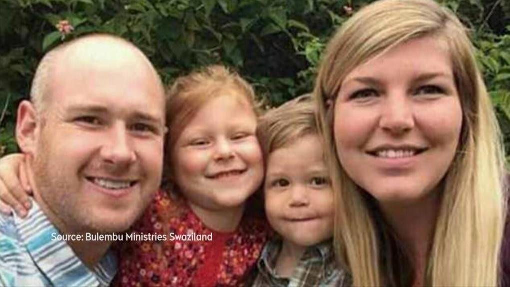 Memorial held for Alberta family killed in South Africa
