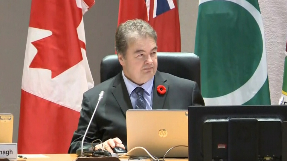 Ottawa councillor Rick Chiarelli returned to city council Wednesday for the first time in three months amid sexual harassment allegations.