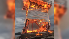 Five Mile Light destroyed in July 2018