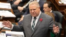 Ontario Premier Doug Ford attends Question Period at the Ontario Legislature, ahead of the fall Economic Statement, in Toronto on Wednesday, November 6, 2019. THE CANADIAN PRESS/Chris Young