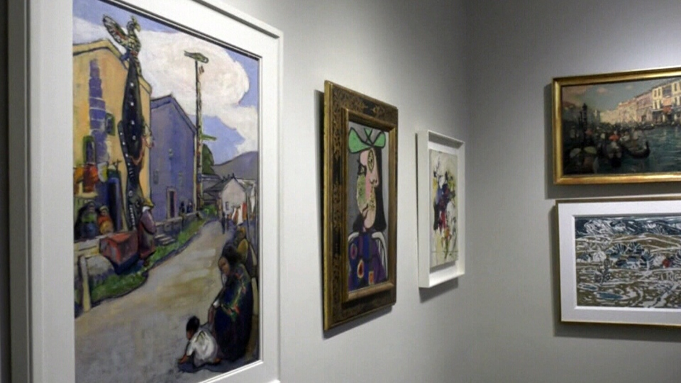 $25 million of paintings to go on sale in Montreal