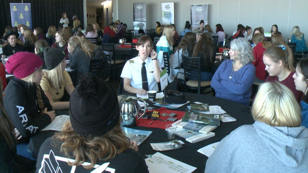 Over 200 Young Women Mentored On Career Paths At Lethbridge Career Fair Ctv News