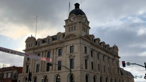 Moose Jaw City Hall is shown in this photo. (Marc Smith / CTV News Regina)