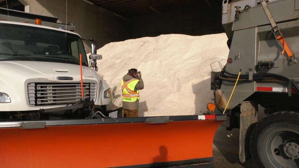 Vancouver salt pile