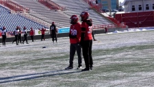 Stampeder is a mentor to young players