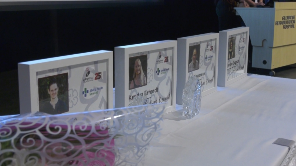 Courage Awards presented at Glenrose Hospital