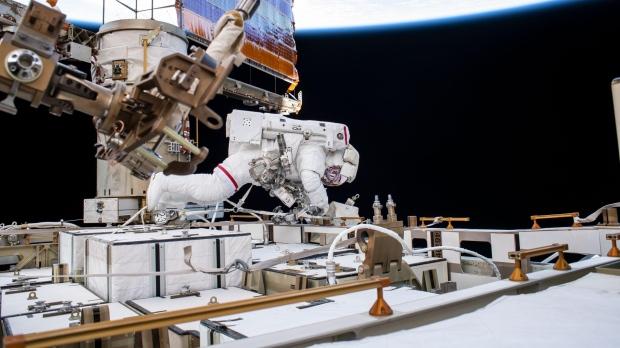 Astronaut Andrew Morgan