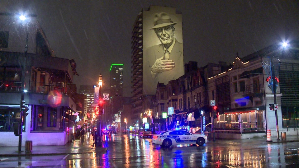 Man shot on Crescent Street in Montreal