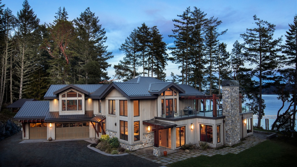 According to Sotheby's, the $6.5-million price tag marks the second-highest residential property sale ever in the Sooke area. (Sotheby's International Realty Canada)