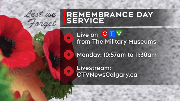 Remembrance Day Service 2019 - Calgary