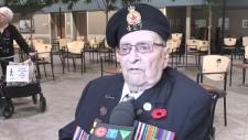 WWII veteran Wilbert Spencer