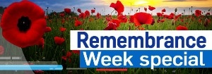 Remembrance Week special button