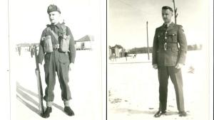 Two photos of Don White