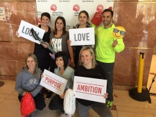 United Way Stair Climb in London  2019