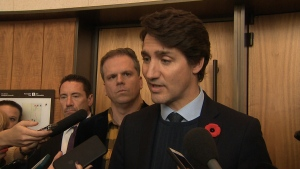 Justin Trudeau speaking