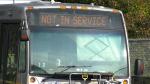 Transit labour dispute impacting bus service