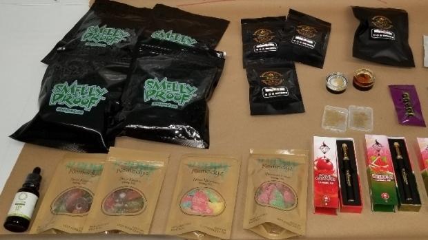 Seized edibles