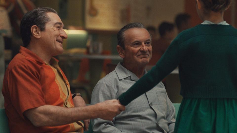 A scene from 'The Irishman'