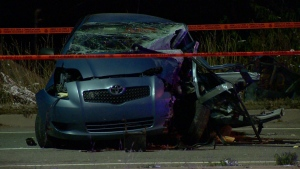 Quebec's Bureau of Independent Investigations is analyzing a police chase that left one person in critical condition.