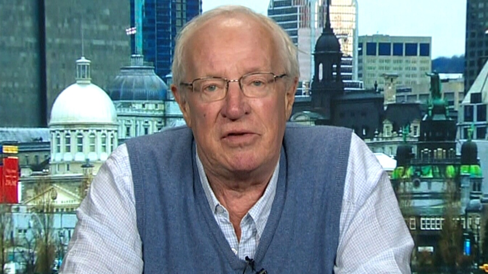 Journalist Robert Fisk appears on CTV's Your Morning, Friday, Nov. 8, 2019.