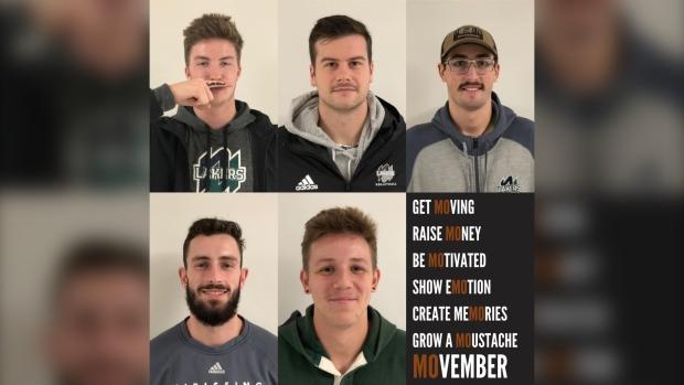 Movember at North Bay's Nipissing University