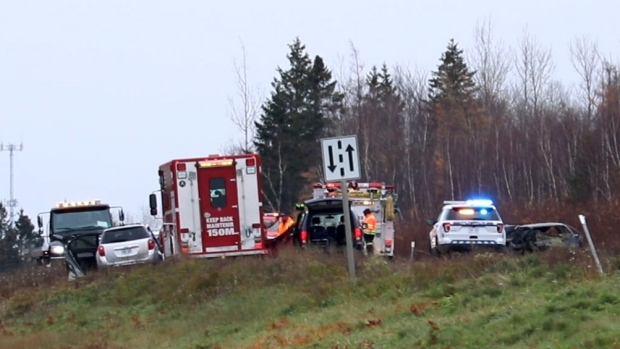Two people killed in head-on collision in Shediac - CTV News
