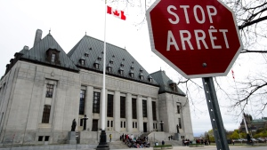 The Supreme Court of Canada in Ottawa is shown in this May 16, 2019 file photo. (THE CANADIAN PRESS/Sean Kilpatrick)