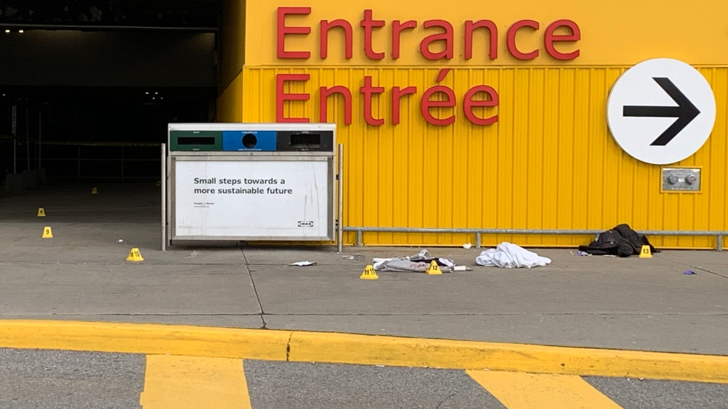 Two men stabbed outside Ottawa IKEA