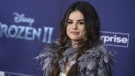 "Selena Gomez arrives at the world premiere of ""Frozen 2"" at the Dolby Theatre on Thursday, Nov. 7, 2019, in Los Angeles. (Photo by Jordan Strauss/Invision/AP)"