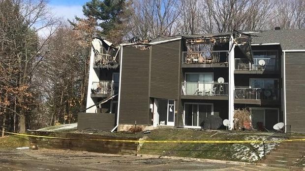 Fire rips through units at Oro-Medonte condo complex