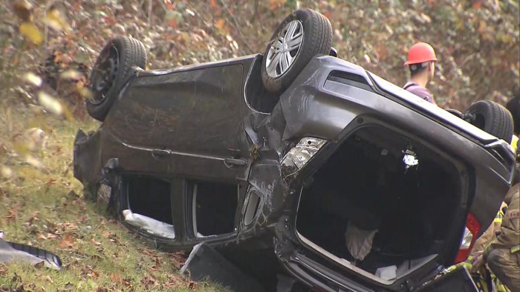 Cariboo Road crash