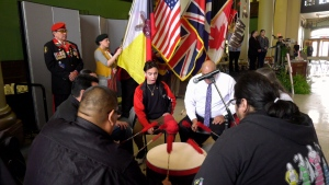 Honouring Indigenous Veterans