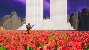 The Royal Canadian Legion built a Fortnite memorial Island in honour of Remembrance Day. (Fortnite, Royal Canadian Legion)