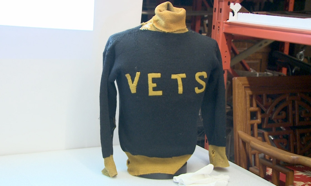 Lethbridge Vets sweater jersey