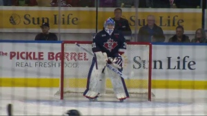 The Kitchener Rangers and Guelph Storm faced off in a heated rivalry on Friday, Nov. 8, 2019.