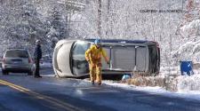 Snowfall Car
