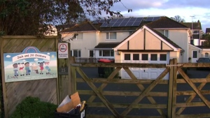 The alleged crimes took place at the Jack and Jill Childcare nursery school and have shaken the quiet community along England's southwest coast.
