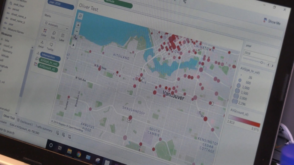 City of Vancouver turns to tech to help ease traffic congestion