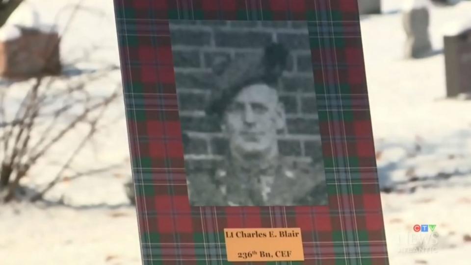 Veteran in unmarked grave