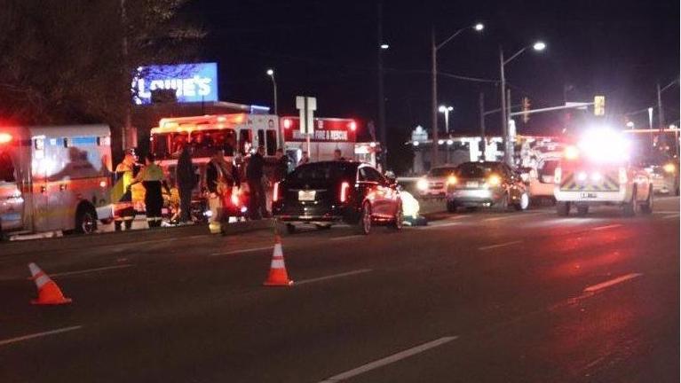 Man struck by car in east Windsor