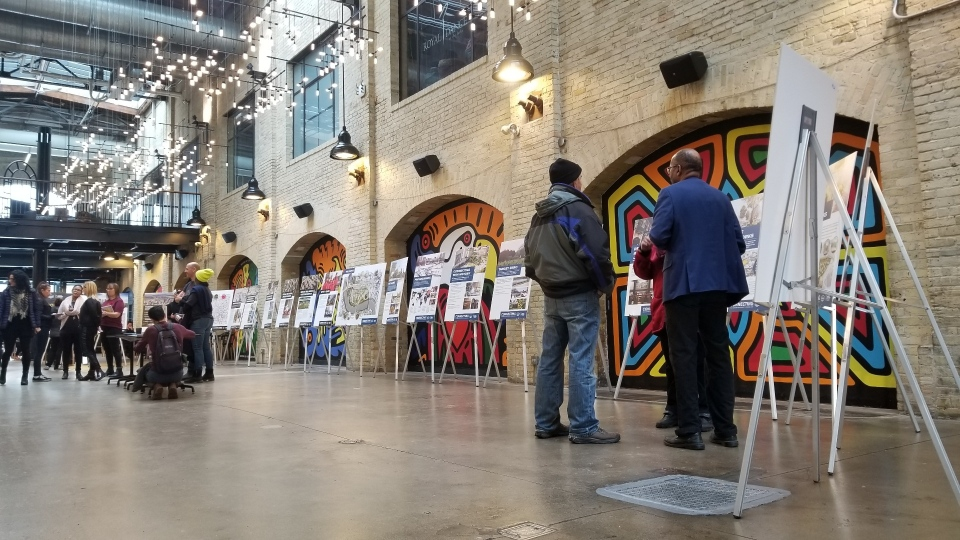 The Forks' 10-year plan was unveiled at a public consultation on Saturday. (Source: Daniel Timmerman/CTV News)