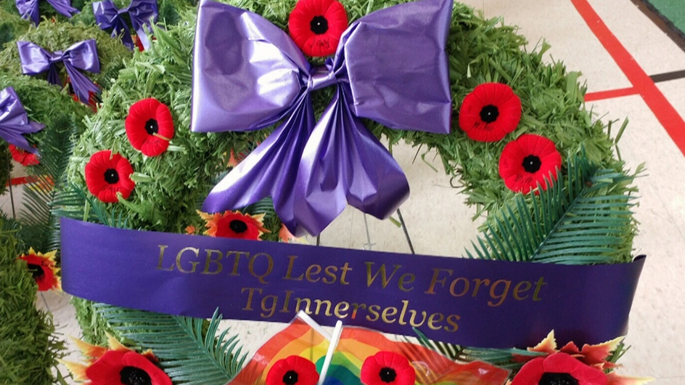 A group in northern Ontario will honour LGBTQ veterans on Remembrance Day.