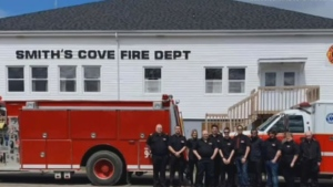 This photo from the Smith's Cove Fire Department won the 'Fire Hall Photo Campaign' contest put on by AA Munro Insurance after the Reserve Mines Volunteer Fire Department withdrew.