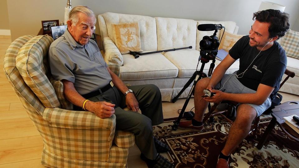 Eric Brunt interviews veterans